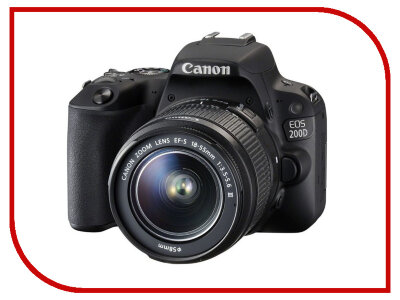 Canon EOS 200D Kit 18-55mm f/3,5-5,6 III