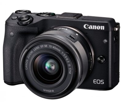 Canon EOS M3 Kit 15-45mm f/3,5-6,3 IS STM