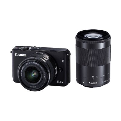 Canon EOS M3 Double kit 15-45mm f/3,5-6,3 IS STM + 55-200 f/4,5-6,3 IS STM