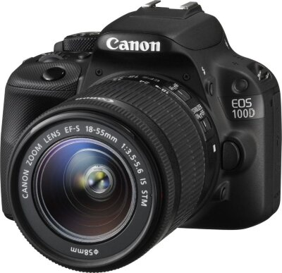 Canon EOS 100D Kit 18-55mm f/3,5-5,6 IS STM