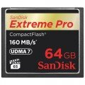 SanDisk Extreme Pro CF 64GB 160Mb/s/1067X