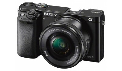 Sony Alpha A6000 Kit 16-50mm Black